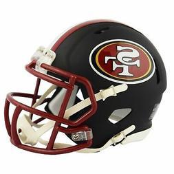 Riddell San Francisco 49ers Black Matte Alternate Speed Mini