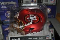 San Francisco 49ers NFL BLAZE Alternate Riddell Mini Footbal