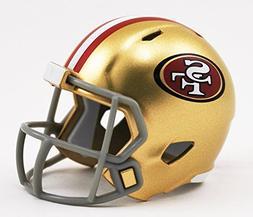 SAN FRANCISCO 49ERS NFL Cupcake / Cake Topper Mini Football