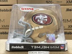SAN FRANCISCO 49ers - Riddell Speed Mini Helmet