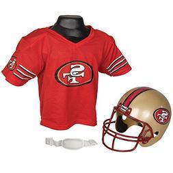 Franklin San Francisco 49ers Kid's Jersey & Helmet Set One S