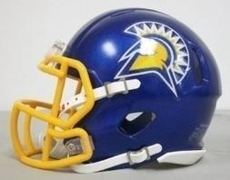 San Jose State Spartans NCAA Mini SPEED Helmet by Riddell