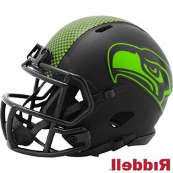Seattle Seahawks Alt Eclipse Riddell Speed Mini Helmet - New