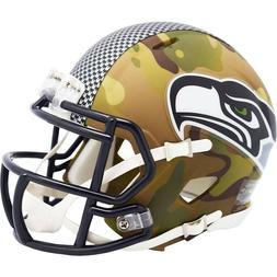 Seattle Seahawks Helmet Riddell Replica Mini Speed Style Cam