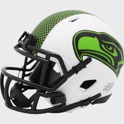 Seattle Seahawks Lunar Eclipse Alternate Riddell Speed Mini