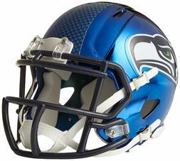 Seattle Seahawks Riddell Speed Mini Helmet - Chrome Alternat