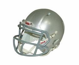 Silver Blank Riddell Revolution SPEED Mini Football Helmet