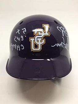 Skip Bertman Signed Autographed LSU Mini Baseball Helmet Bec