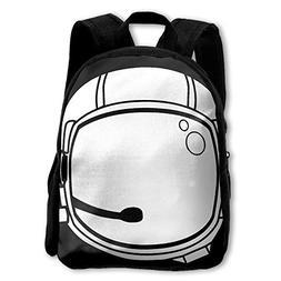 ETSBL BAG Space Helmet Childrens' Canvas School Backpacks Mi