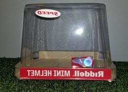 Riddell Speed NCAA or NFL Mini Helmet Retail Display Case -