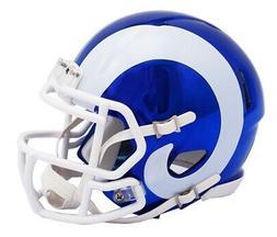 Riddell Speed NFL LOS ANGELES RAMS Football Helmet Chrome Mi