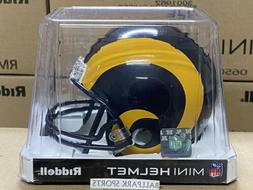 STL LOS ANGELES RAMS  Riddell VSR4 Mini Helmet