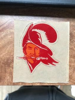 Tampa Bay Buccaneers Throwback MINI HELMET DECAL SET Rare NF