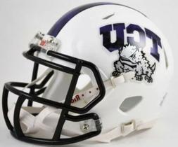 Riddell TCU Horned Frogs NCAA Speed Mini Football Helmet