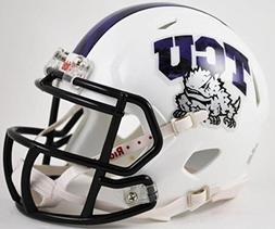 TCU Texas Christian Horned Frogs Alternate White with Black