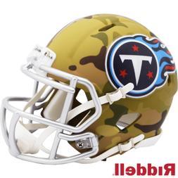 Tennessee Titans Camo Alternate Riddell Speed Mini Helmet Ne