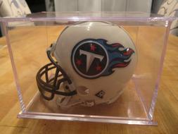 Tennessee Titans MINI HELMET - Riddell w/ Display Case
