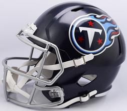 TENNESSEE TITANS RIDDELL SPEED FOOTBALL MINI HELMET 2018 LOG