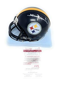 Terry Bradshaw Pittsburgh Steelers Signed Autograph Mini Hel