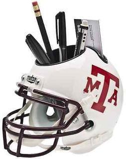 TEXAS A&M AGGIES NCAA Mini Football Helmet DESK ORGANIZER Of