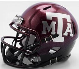 Riddell Texas A&M Aggies 2018 Two Tone NCAA Revolution SPEED