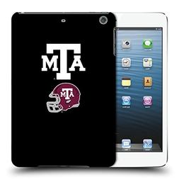 Official Texas A&M University TAMU Helmet Logotype Hard Back