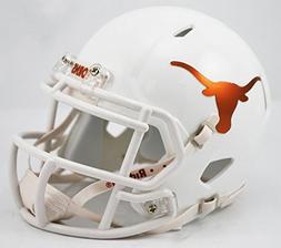 Texas Longhorns Riddell Speed Mini Replica Chrome Football H
