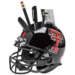 TEXAS TECH RED RAIDERS NCAA Schutt Mini Football Helmet DESK