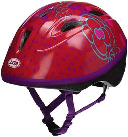 Bell Toddler Red Jump House Flowers Zoomer Helmet AGE 3-5
