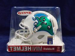 Tulane Angry Wave Riddell NCAA College Football Team Speed M
