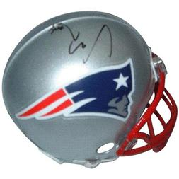 Ty Warren Autographed New England Patriots Mini Helmet