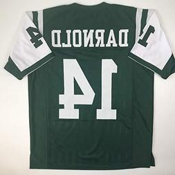 Unsigned Sam Darnold New York Green Custom Stitched Football