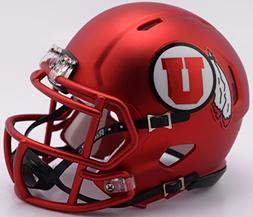 Utah Utes Red 2017 Revolution NCAA SPEED Mini Helmet
