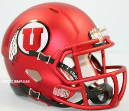 UTAH UTES  Riddell Speed Mini Helmet