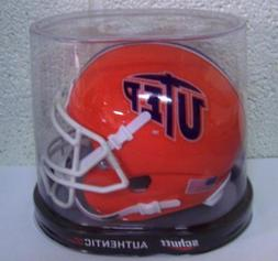 Schutt Sports Utep Miners Ncaa Authentic Mini 1/4 Size Helme