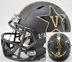 Vanderbilt Commodores Speed Mini Helmet - Matte Black