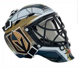 NHL Franklin Sports Vegas Golden Knights Mini Goalie Face Ma