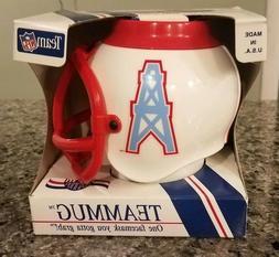 Vintage Houston Oilers Team Desk Caddy Mug Mini Helmet 1992