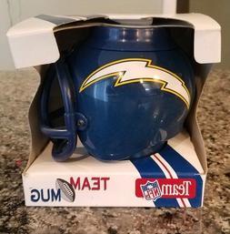 Vintage San Diego Chargers Team Desk Caddy Mug Mini Helmet 1