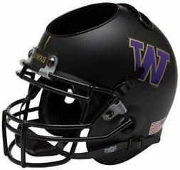 Washington Huskies Alternate Black Mini Helmet Desk Caddy by