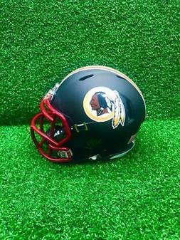 Washington Redskins Riddell Speed CUSTOM Matte Black Mini Fo