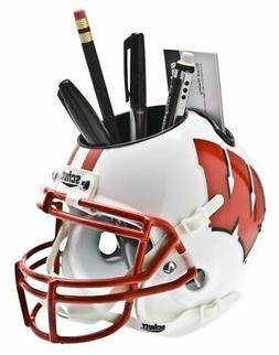 Wisconsin Badgers Schutt Mini Helmet Desk Caddy