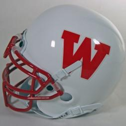 Wisconsin Badgers 1988-89 Throwback NCAA Authentic Schutt Mi