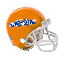 Wisconsin Platteville Riddell Replica Orange Mini Helmet 'Of